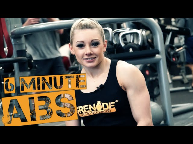 6 Minute Ab Workout with Emma Paveley