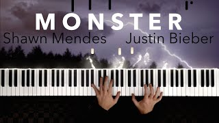 Shawn Mendes, Justin Bieber - Monster | EPIC Piano Cover видео