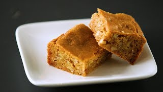 Tips and Tricks for Homemade Blondies- Kitchen Conundrums with Thomas Joseph