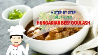 SPICY HUNGARIAN BEEF GOULASH