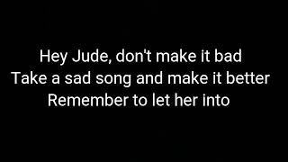 vuclip The Beatles -hey Jude (cover by jfla lyrics)