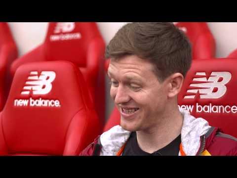NIVEA MEN & Liverpool FC: Fathers Day Stadium Tour Surprise
