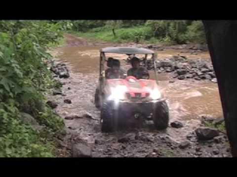 45bcaabc1fe Ruta en Rhinos y cuatrimotos Yamaha 4x4 parte 1 - YouTube