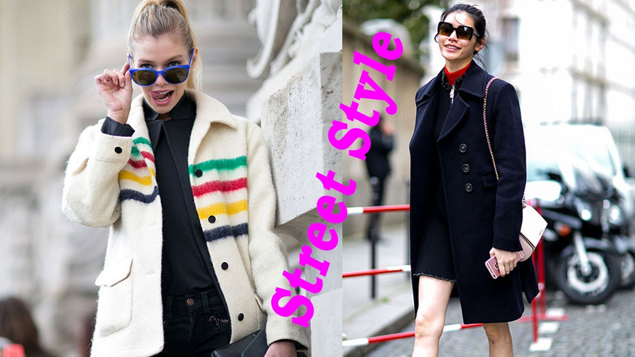 Street Style Models Off Duty Paris Fashion Week Fall 2016 Part 3 Fashion Street Style Youtube