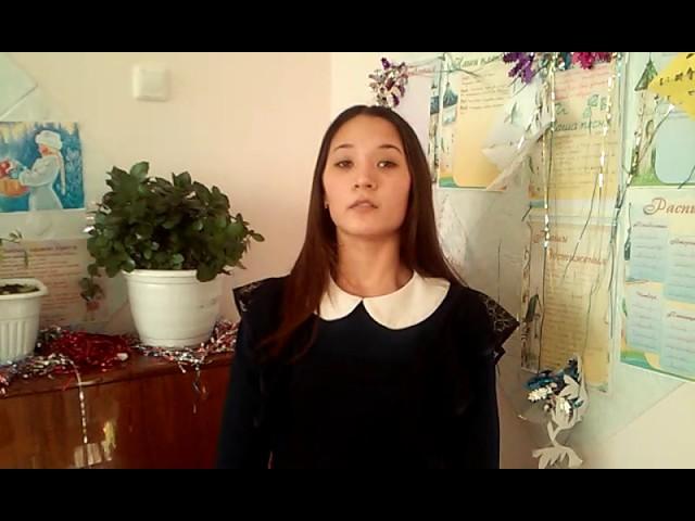 Изображение предпросмотра прочтения – ЗариповаРезеда читает произведение «Парус (Белеет парус одинокий…)» М.Ю.Лермонтова