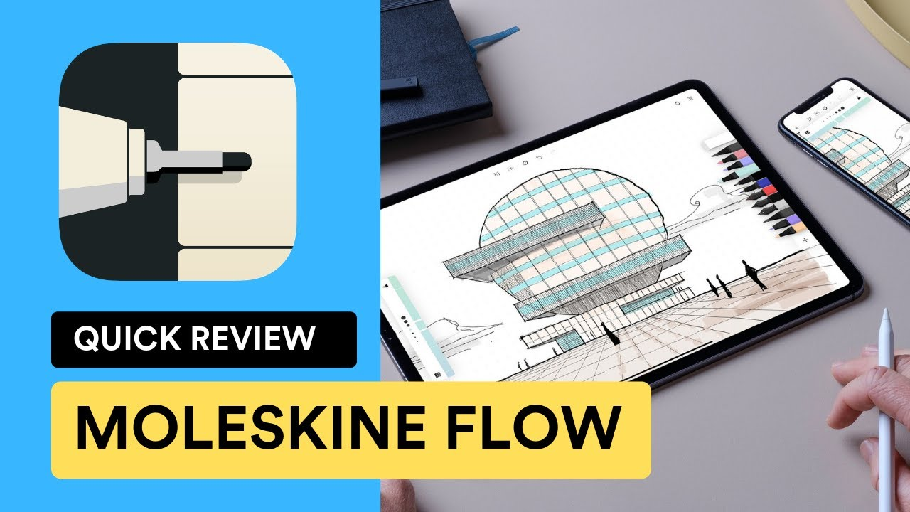 Moleskine Flow for iPad - 2019 Review | Features, Pricing & Opinions