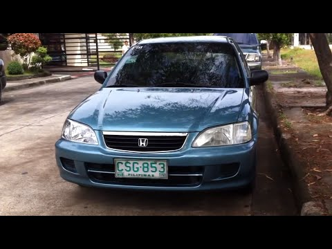 2001 Honda City Review (Start Up, In Depth Tour, Engine, Exhaust)