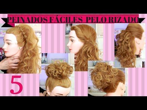 5 Peinados Fáciles Para Cabellos Rizados Sandranewlook