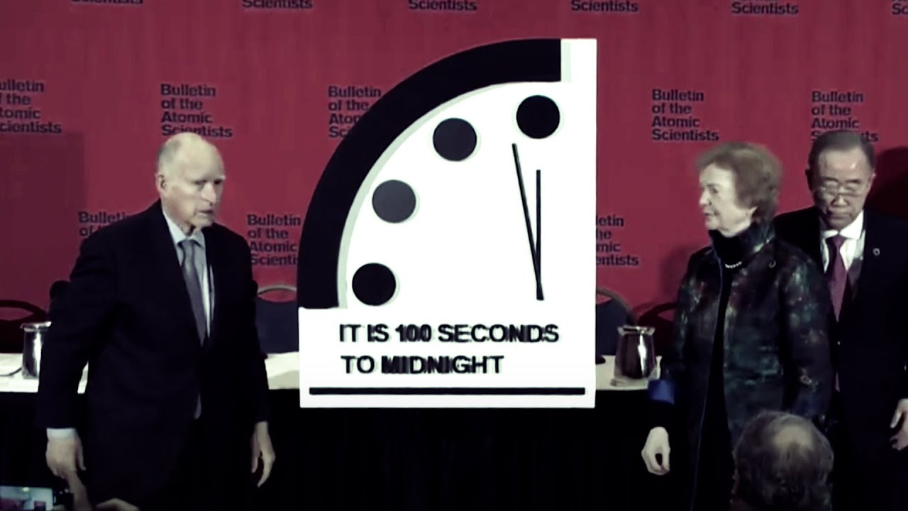 100 секунд до «ядерной полуночи»: часы Судного дня перевели вперёд
