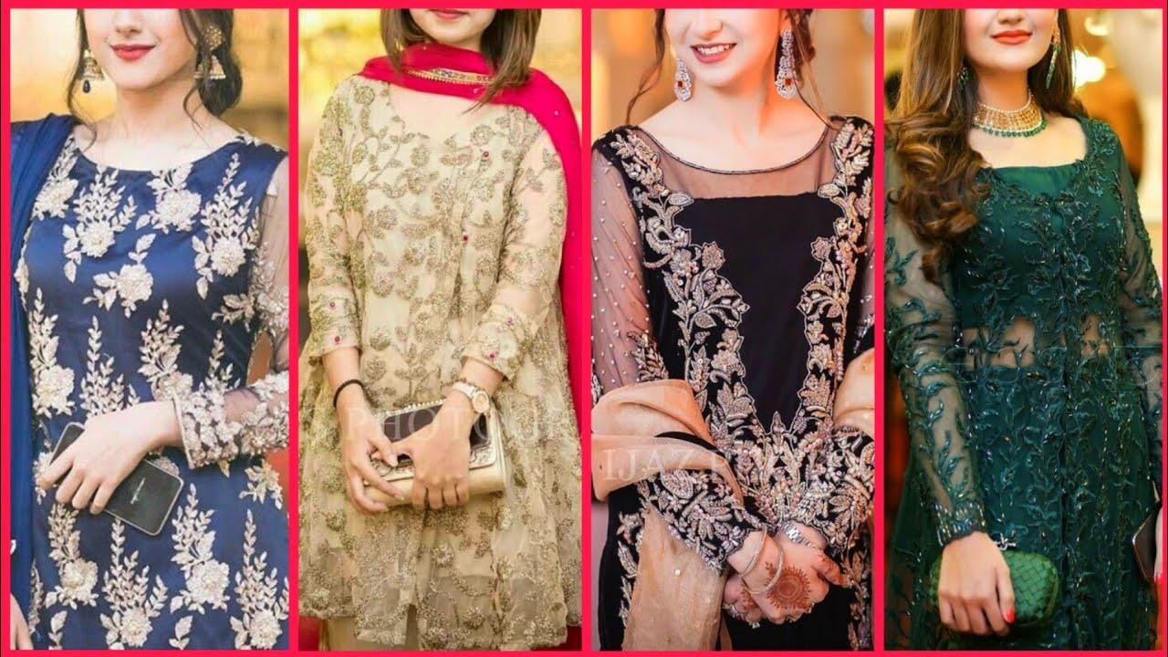 2020 Latest Party Wear Pakistani Dresses Party Wear Fancy Dresses Party Wear Wedding Suit Dresses Youtube