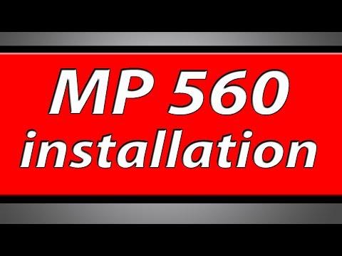 Canon Pixma MP560 Printer Installation