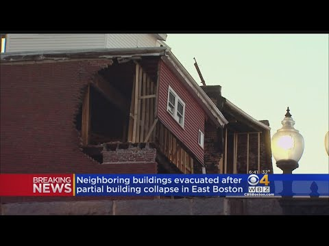 Building Collapse In East Boston Forces Nearby Buildings To Evacuate