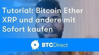 Mit Sofort können Sie in zehn Minuten Bitcoin kaufen