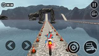 Tricky Moto Bike Trail Master 2018 - tricky bike game - Gameplay Android game