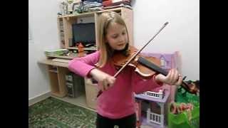 Шели. Вводный курс обучения игры на скрипке.