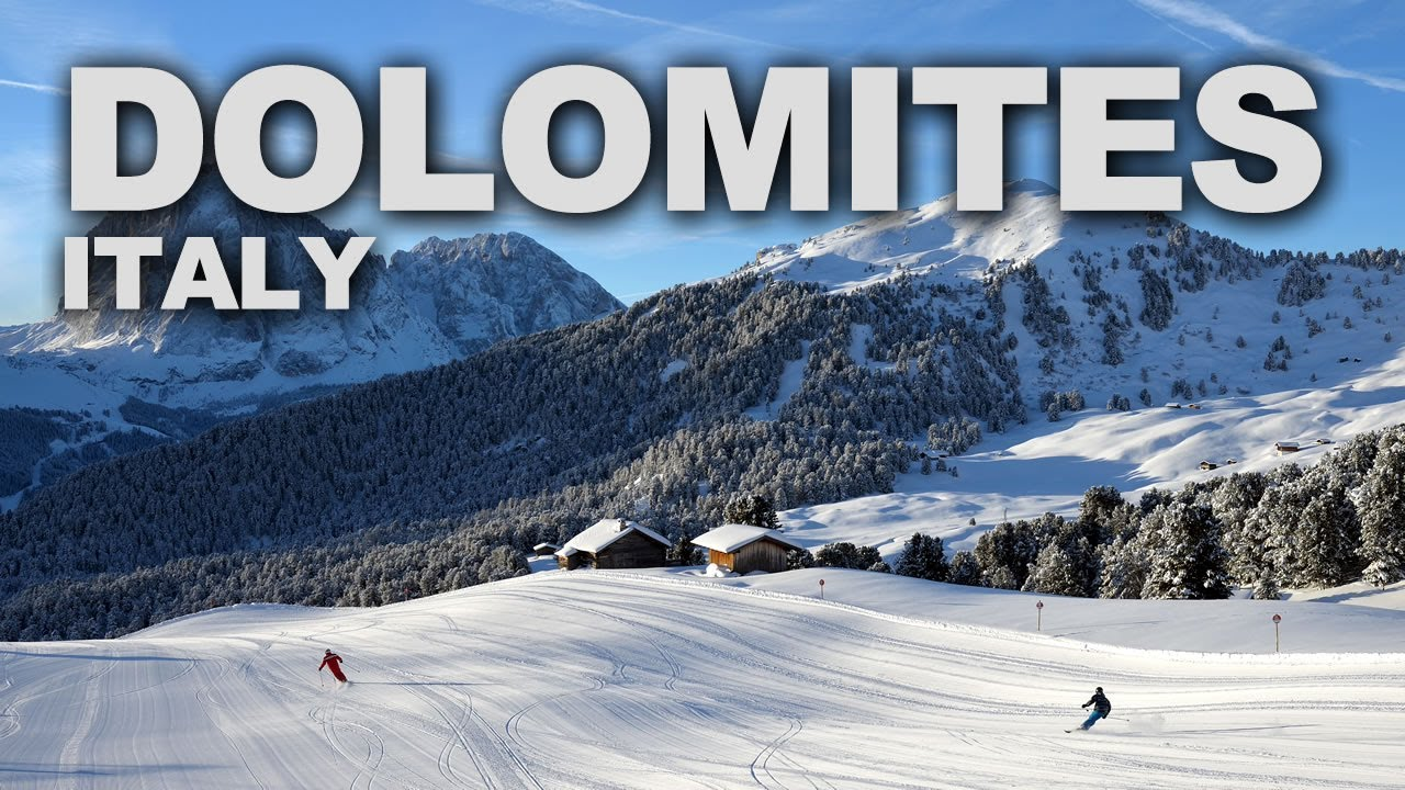 The dolomites mountain range in northeastern italy youtube for Where are the dolomites located in italy