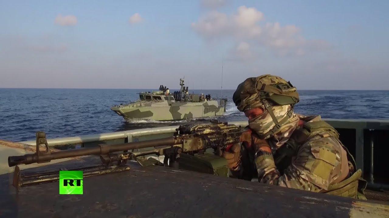 ВМФ и ВКС РФ провели совместные учения в Средиземном море
