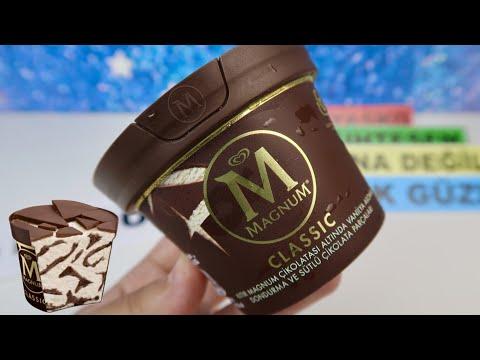 MAGNUM Crack Dondurmanın Çıtır Çıtır Çikolatasını KIRDIM