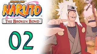 Naruto The Broken Bound 02 Pesquisas do Mestre Jiraya