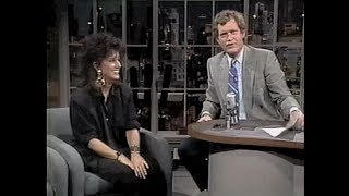 Grace Slick on Late Night, August 12, 1987