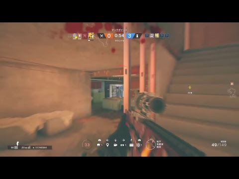 [R6S] rank【 Load to Platinum】solo ※声あり