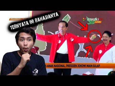 [Clickbait] Membongkar Trik Sulap Presiden Jokowi Saat Peringati Hari Anak