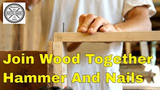 How to join 2 pieces of wood at the corner