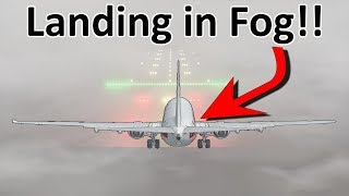 How do aircraft land in fog?!