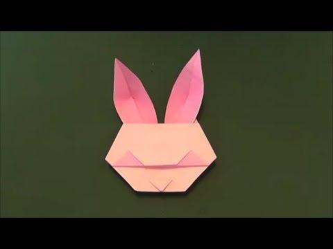 クリスマス 折り紙:折り紙 うさぎ 簡単-youtube.com