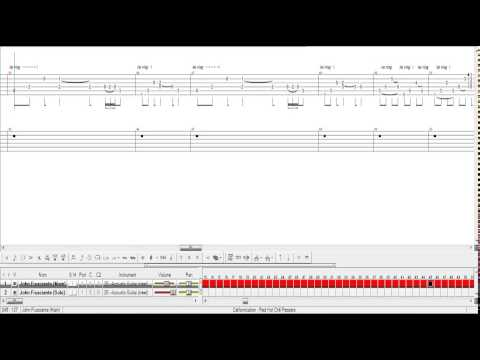 Californication (Red Hot Chili Peppers) Guitar Pro Tab Lesson