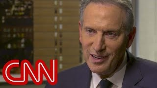 Howard Schultz vows he won't re-elect Trump in 2020 Former Starbucks CEO Howard Schultz explains to CNN's Poppy Harlow why he believes he can beat President Donald Trump in 2020 and responds to ...