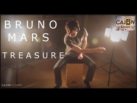 Treasure - Bruno Mars Cajon Drum Cover Acoustic | Cajon Covers