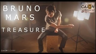 Treasure - Bruno Mars Cajon Drum Cover Acoustic | Cajon Covers