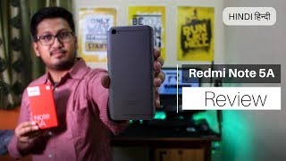 [HINDI] Xiaomi Redmi Note 5A Review In Detail