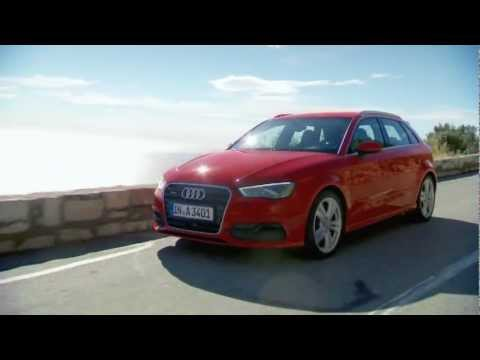 Audi A3 Sportback Misano Red driving