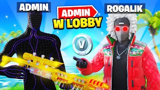 ADMIN wbił do LOBBY i TROLLUJE w Fortnite SEZON 5!