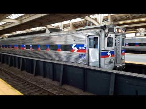 SEPTA regional rail action SL4 SL5 TIC AME7
