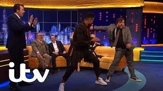 Jack Black and Ashley Banjo Do The Floss! | The Jonathan Ross Show | ITV
