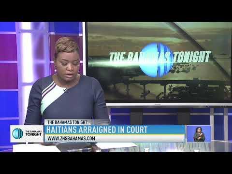 HAITIAN WOMAN ARRAIGNED IN COURT