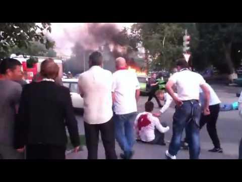 ДТП у Центрального автовокзала г. Воронежа