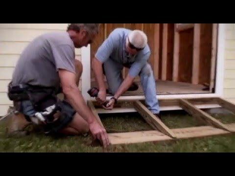 Building A Ramp For Shed Youtube