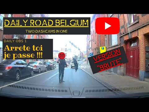 "Daily Road Belgium : Daily Obs #01 Version ""Brute"""
