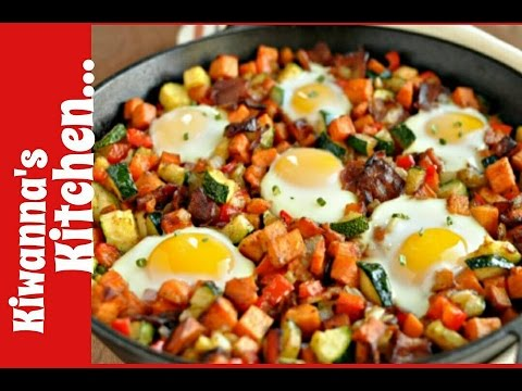 Breakfast Skillet Recipe *Kiwanna's Kitchen*