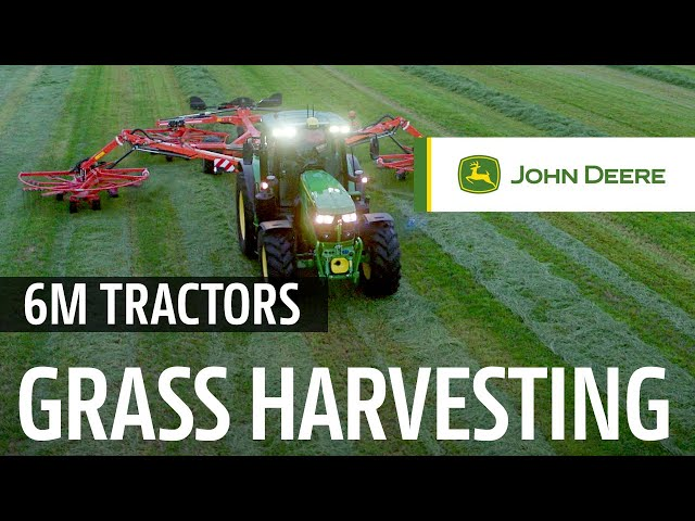 John Deere | 6120M and 6140M Teaser Grass