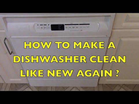 Dishwasher Hack How to Make A Dishwashser Clean Like New Again!