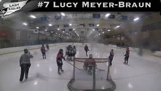 2018-2019 #7 Lucy Meyer-Braun GY 2023 Carolina Lady Eagle Highlights