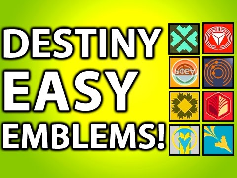 Destiny Tips & Tricks: Easy Emblems and Shaders! What is Grimoire? (Destiny Gameplay Xbox One)