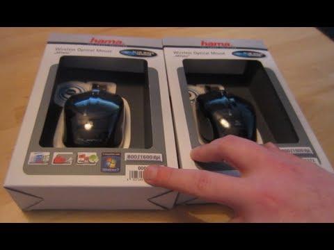 2e8d71e031c Unboxing: HAMA Milano Wireless Optical Mouse - YouTube