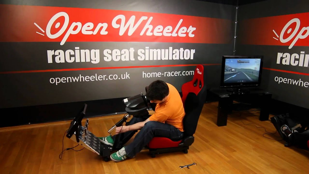 Game Racing Chairs the OpenWheeler Racing Seat  YouTube