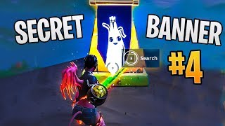 *NEW* SECRET BATTLE STAR WEEK 4 LOCATION! FORTNITE *FIND THE SECRET BANNER* WEEK 4 SEASON 8